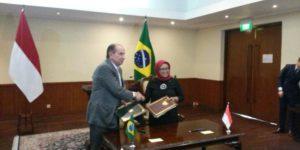 Indonesia-Brasil Teken Kesepakatan Bebas Visa dan Kerja Sama Penguatan Ekonomi